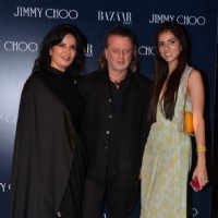Neeta Lulla, Rohit Bal and Nishka Lulla at Launch of Jimmy Choo Eyewear Launch