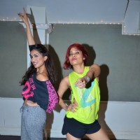 Pallavi Sharda learns Zumba