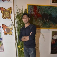 Vatsal Seth at Gateway School Art Show