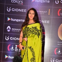 Poonam Dhillon at COLORS GiMA AWARDS 2016
