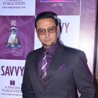 Gulshan Grover at Savvy Magaine's Event