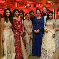 Celebs attend Prince William and Kate Dinner Party