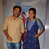 Pankaj Tripathi and Swara Bhaskar at the Promotions of 'Nil Battey Sannata'
