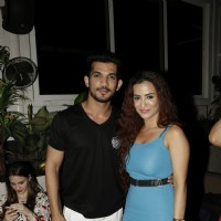 Twinkle Bajpai and Arjun Bijlani at BCL Party!