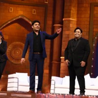Shah Rukh Khan shoots for The Kapil Sharma Show