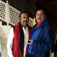 Shatrughan Sinha at Priyanka Chopra's Party Post Receiving Padma Bhushan