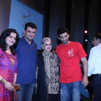 Aditya Roy Kapur, Sarita Joshi,Siddharth Roy Kapur, MD and CEO, Disney India and actor Kunaal Roy Ka