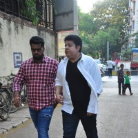 Sajid Khan at Funeral of Firoz Nadiadwala's Mother Munira Nadiadwala