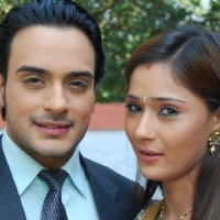 Lovely couple Alekh and Sadhna Rajvansh