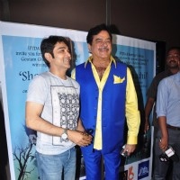 Shatrughan Sinha at Screening of Gautam Godse's film 'Shankhachil'
