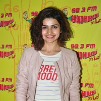The Gorgeous Prachi Desai for Promotions of 'Azhar' at Radio Mirchi