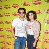 Emraan Hashmi and Prachi Desai for Promotions of 'Azhar' at Radio Mirchi