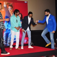 Akshay Kumar, Abhishek Bachchan, Chunky Pandey and Riteish Deshmukh and Trailer Launch of the film '