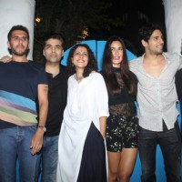Katrina Kaif and Sidharth Malhotra at Wrap up Bash of the film 'Baar Baar Dekho'