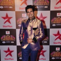 Karan Mehra at Star Parivar Awards Red Carpet Event