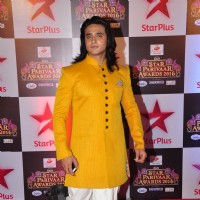 Ashish Sharma at Star Parivar Awards Red Carpet Event