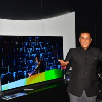 Chetan Bhagat at 'LG' Promotions