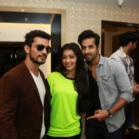 Arjun Bijlani and Digangana Suryavanshi at the The Launch Soiree of Johri by Amaze Jewels