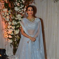 Malaika Arora Khan at Karan - Bipasha's Star Studded Wedding Reception