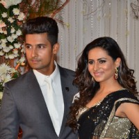 Ravi Dubey and Sargun Mehta at Karan - Bipasha's Star Studded Wedding Reception
