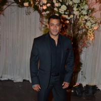 Salman Khan at Karan - Bipasha's Star Studded Wedding Reception