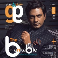 Nawazuddin Siddiqui no the Cover of Magazine Glam & Glaze.