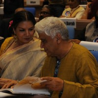 Shabana Azmi and Javed Akhtar at National Award Ceremony
