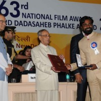 Remo Dsouza at National Award Ceremony
