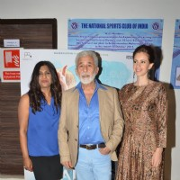 Naseeruddin Shah and Kalki Koechlin at Special Screening of film 'Waiting'