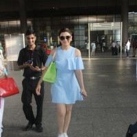 Hansika Motwani Snapped at Airport