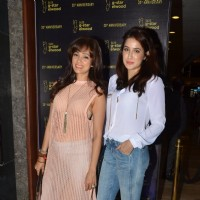 Chak De! Girls Vidya Malvade and Sagarika Ghatge at G-Star Elwood 20th Anniversary Event