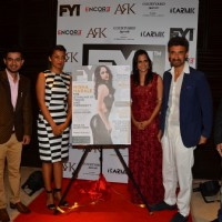 Mugdha Godse and Rahul Dev  at Nisha Harale's Cover Launch