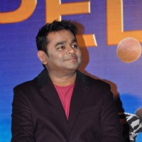 A.R. Rahman and  Manasi Scott at 'Pele' Film Launch