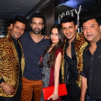 Aamir Ali Malik and Sanjeeda Shaikh at Meet Bros Bash