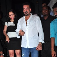 Sanjay Dutt and Manyata Dutt at Success Bash of 'Baaghi'