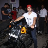 Dino Morea at Relaunch of Ayesha Takia's cafe 'Basilico'