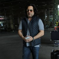 Fardeen Khan Snapped at Airport