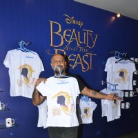 Vishal Dadlani at Special Screening of 'Beauty and the Beast'