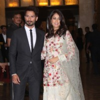 Shahid Kapoor & Mira Rajput Kapoor Grace the Wedding Reception of Preity Zinta & Gene Goodenough