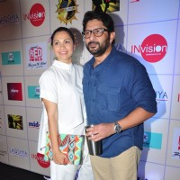 Arshad Warsi with Maria Goretti Graces the 'Ghanta Awards'