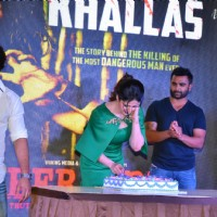 Toshi Sabri, Zarine Khan, Ram Gopal Varma and Sachin Joshi at Song Launch of Veerappan 'Khallas'