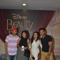 Gurmeet Choudhary, Debina Bonnerjee Choudhary and Terence Lewis at Special Screening of 'Beauty and