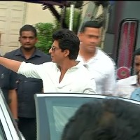Shah Rukh Khan Snapped at Mehboob Studio