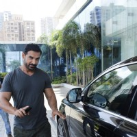 John Abraham at Sajid Nadiadwala's Office!