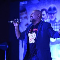 Vishal Dadlani Performs Song Launch of 'TE3N'