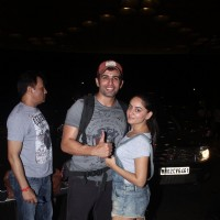 Jay Bhanushal and Mahhi Vij Snapped at Airport