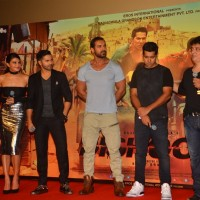 Cast of 'DISHOOM' at Trailer Launch of Film