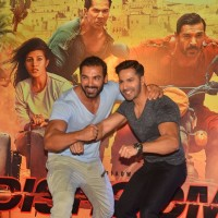 John Abraham and Varun Dhawan at Trailer Launch of 'DISHOOM'