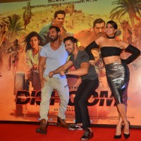 John Abraham, Jacqueline Fernandes and Varun Dhawan at Trailer Launch of 'DISHOOM'