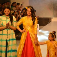 Anita Hassanandani at Kids Fashion Week